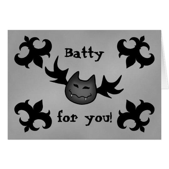 Halloween funny romance card