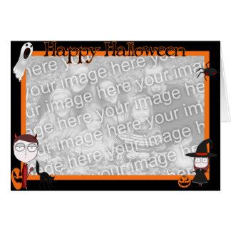 Halloween Gang card template