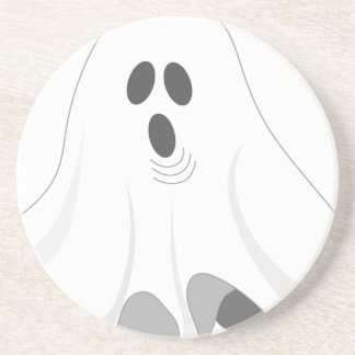 Halloween Ghost - BOO! Coaster