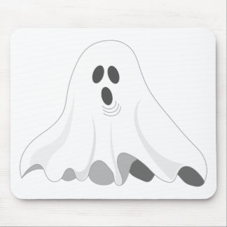 Halloween Ghost - BOO! Mouse Pad