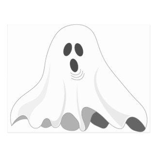 Halloween Ghost - BOO! Postcard