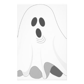 Halloween Ghost - BOO! Stationery