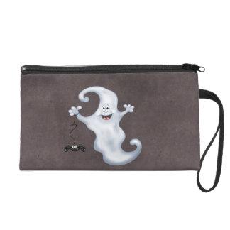 Halloween Ghost Boo Wristlet Purses