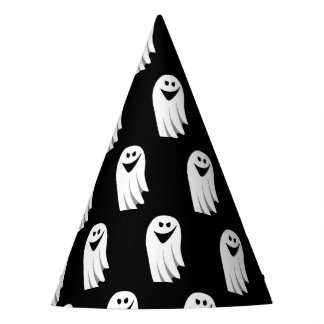 Halloween Ghost Cartoon Illustration 04 Party Hat