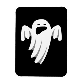 Halloween Ghost Cartoon Illustration 08 Magnet