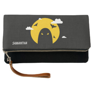 Halloween ghost clutch