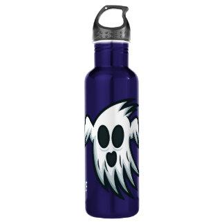 Halloween Ghost custom name water bottles