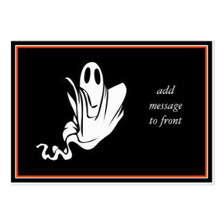 Halloween Ghost Floating Your Way! Pack Of Chubby Business Cards