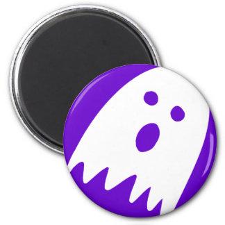 halloween ghost fridge noticeboard magnet purple