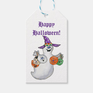 Halloween Ghost Gift Tags Pack Of Gift Tags