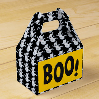 Halloween Ghost Holiday gable favor box