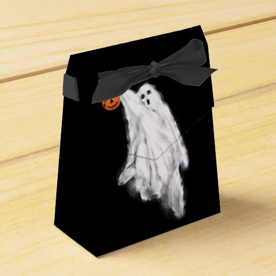 Halloween Ghost Party Favor Box