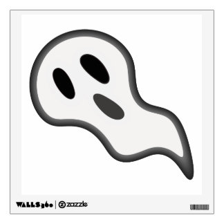 Halloween Ghost Wall Decal
