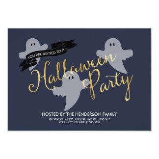Halloween Ghosties - Halloween Party Invitation