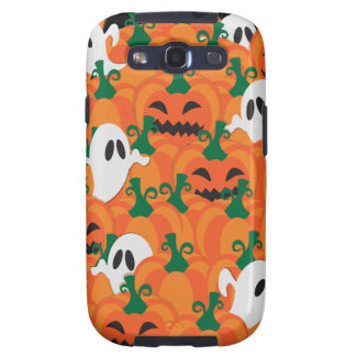 Halloween Ghosts Haunted Pumpkin Patch Galaxy SIII Case
