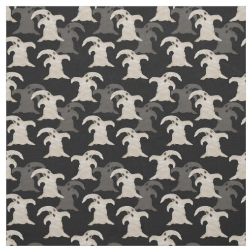 "Halloween Ghosts Pima Cotton (54"" width) Fabric"