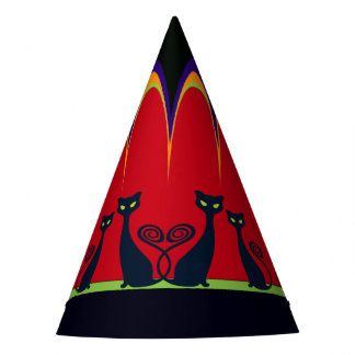 Halloween Gothic Carnival Party Hat