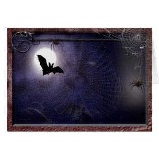 Halloween / Gothic full moon bat Template