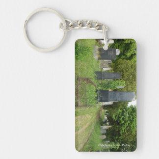 Halloween Graves Single-Sided Rectangular Acrylic Keychain