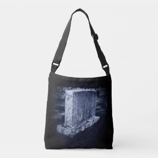 Halloween Gravestone All-Over-Print Cross Body Bag