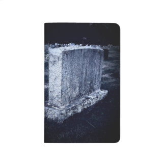 Halloween Gravestone Pocket Journal