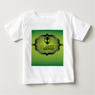 Halloween green alien baby T-Shirt