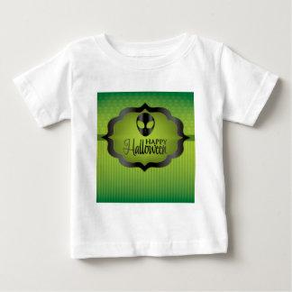 Halloween green alien baby T-Shirt