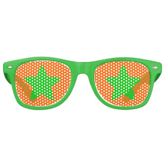 Halloween Green Star Party Shades