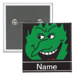 Halloween Green Witch Face Personalize