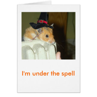 Halloween Greeting Card 1