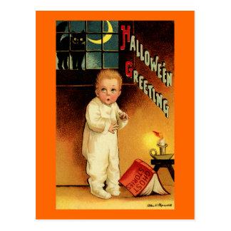 Halloween Greeting Postcard