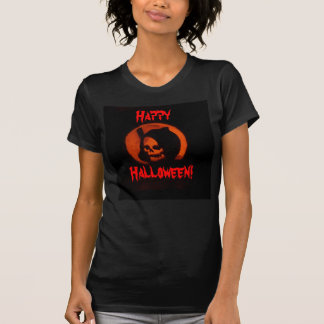 Halloween grim reaper ladies shirt