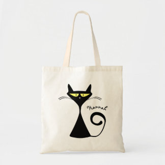 Halloween Grumpy Cat Trick or Treat Candy Tote Bag