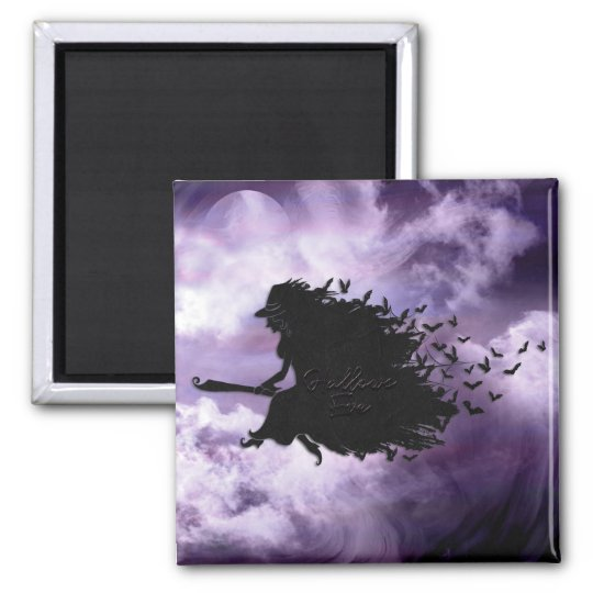 Halloween - Hallows Eve Witch Magnet