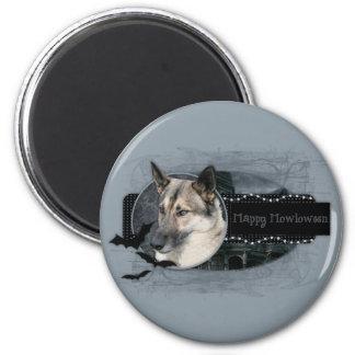 Halloween - Happy Howloween - German Shepherd Magnet