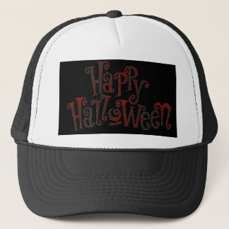 Halloween Happy Trucker Hat