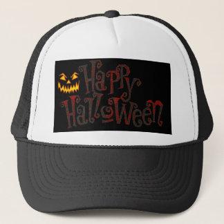 Halloween Happy Trucker Hat