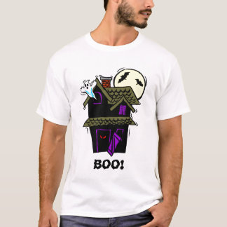 Halloween Haunted House BOO! Shirt