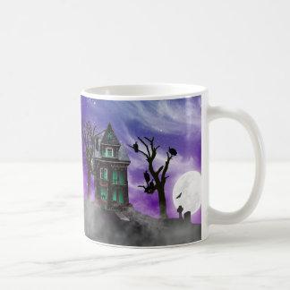 Halloween Haunted House Mug