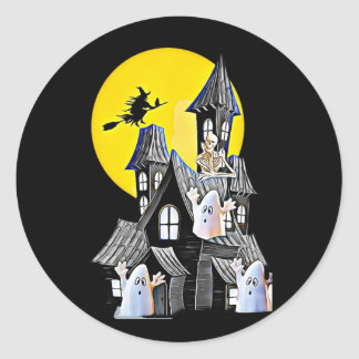Halloween Haunted House Stickers