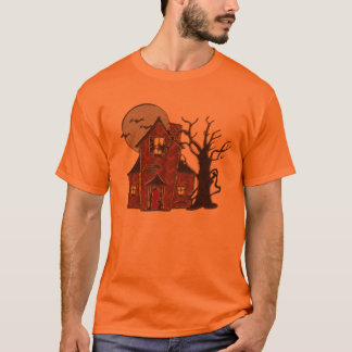 Halloween Haunted House T-Shirt