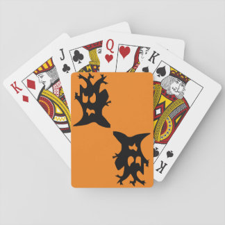 Halloween Haunted Tree Playing Cards