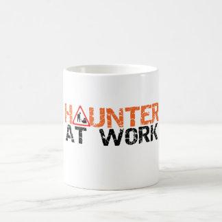 Halloween Haunter At Work Busy Decorating Yard Mug