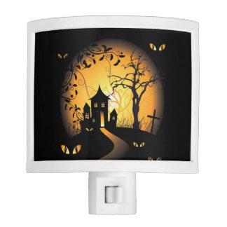 Halloween - Haunting Eyes Watching You Night Light
