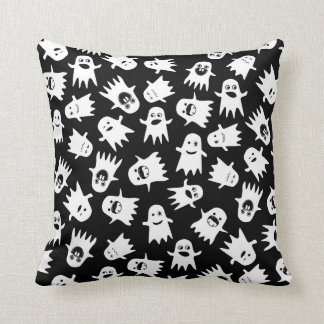 Halloween Hauntings Throw Pillow