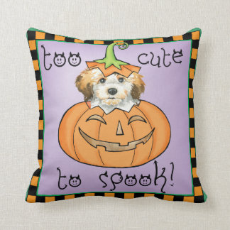Halloween Havanese Throw Pillow