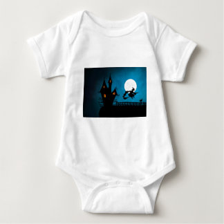Halloween Helloween Witch's House The Witch Baby Bodysuit