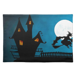 Halloween Helloween Witch's House The Witch Placemat