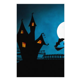 Halloween Helloween Witch's House The Witch Stationery