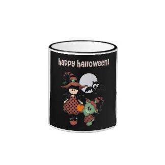 Halloween heureux fait sur commande mug à café